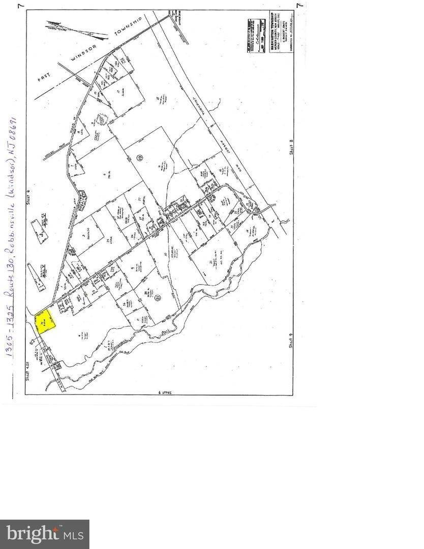Land for Sale at 1305-1325 ROUTE 130 Robbinsville, New Jersey 08691 United States