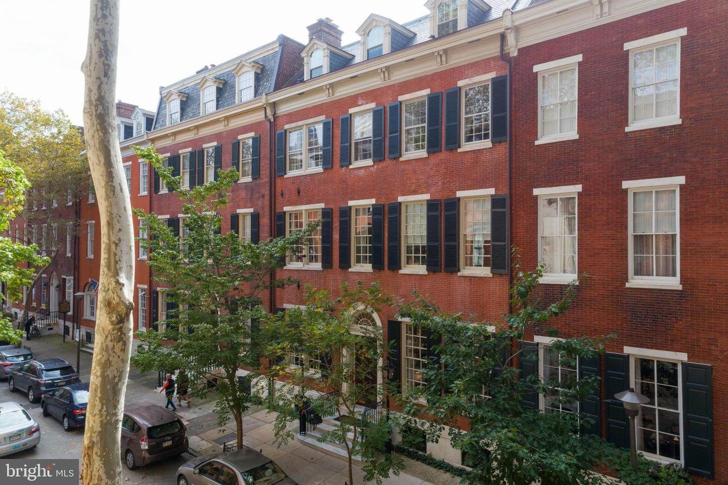 townhouses for Sale at 2014 DELANCEY Place Philadelphia, Pennsylvania 19103 United States