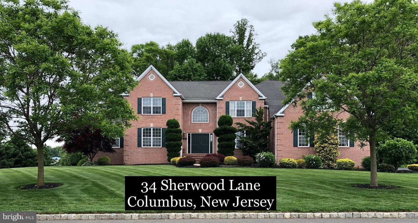 Detached House for Sale at 34 SHERWOOD Lane Columbus, New Jersey 08022 United States