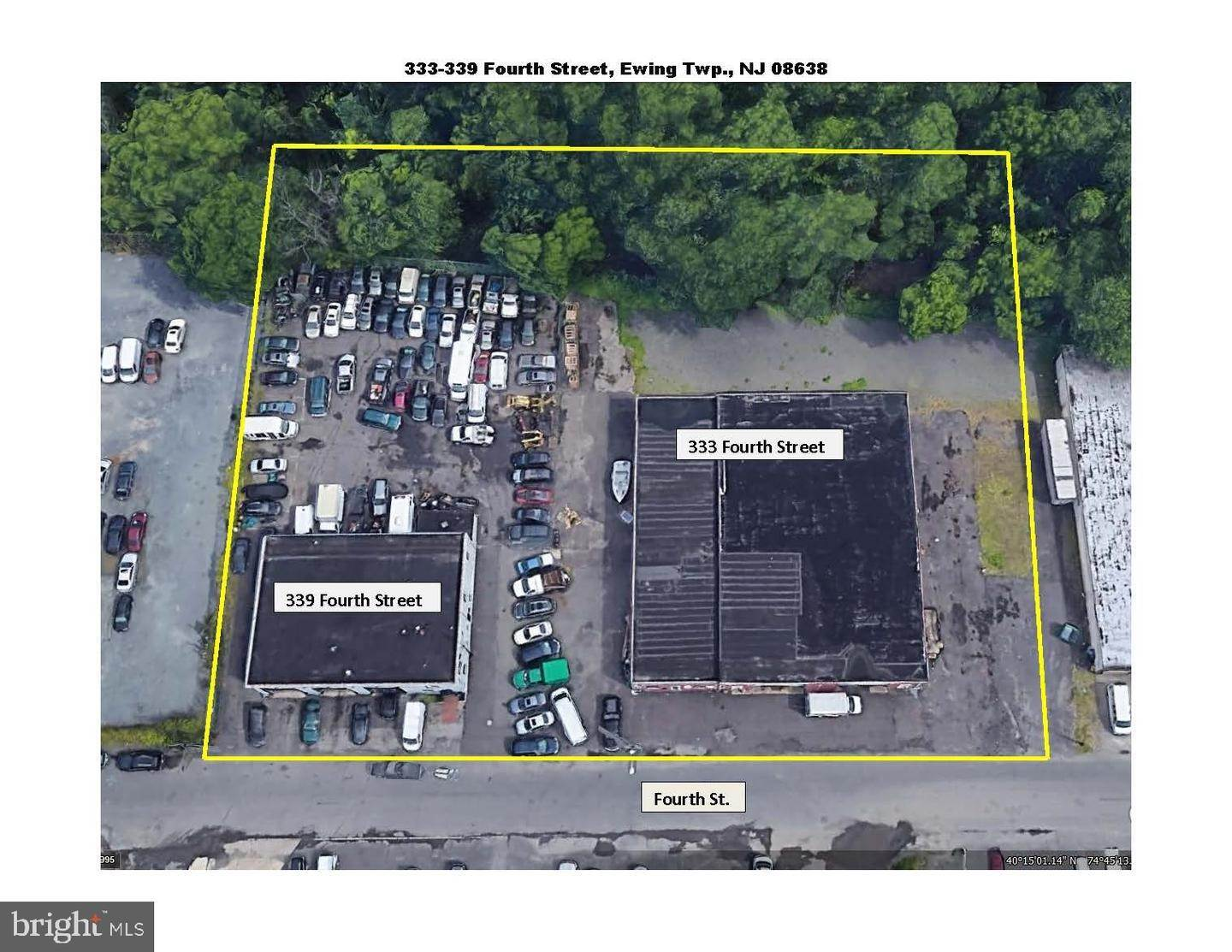 Industrial for Sale at 333-339 4TH Street Trenton, New Jersey 08638 United States