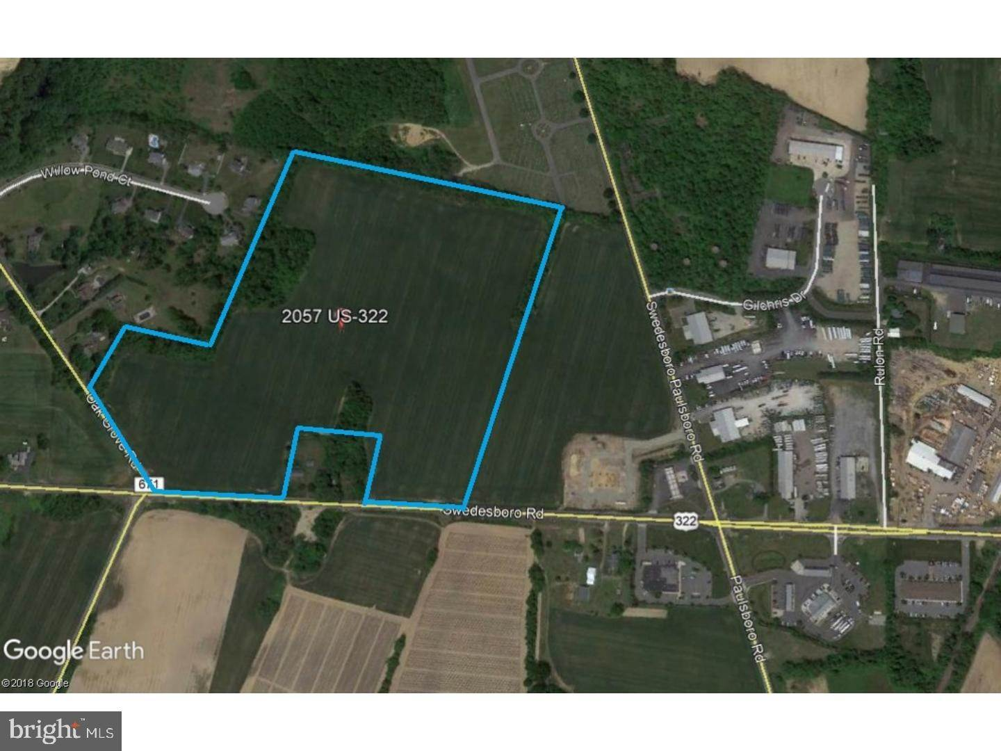 2. Land for Sale at 2057 ROUTE 322 Woolwich Township, New Jersey 08085 United States