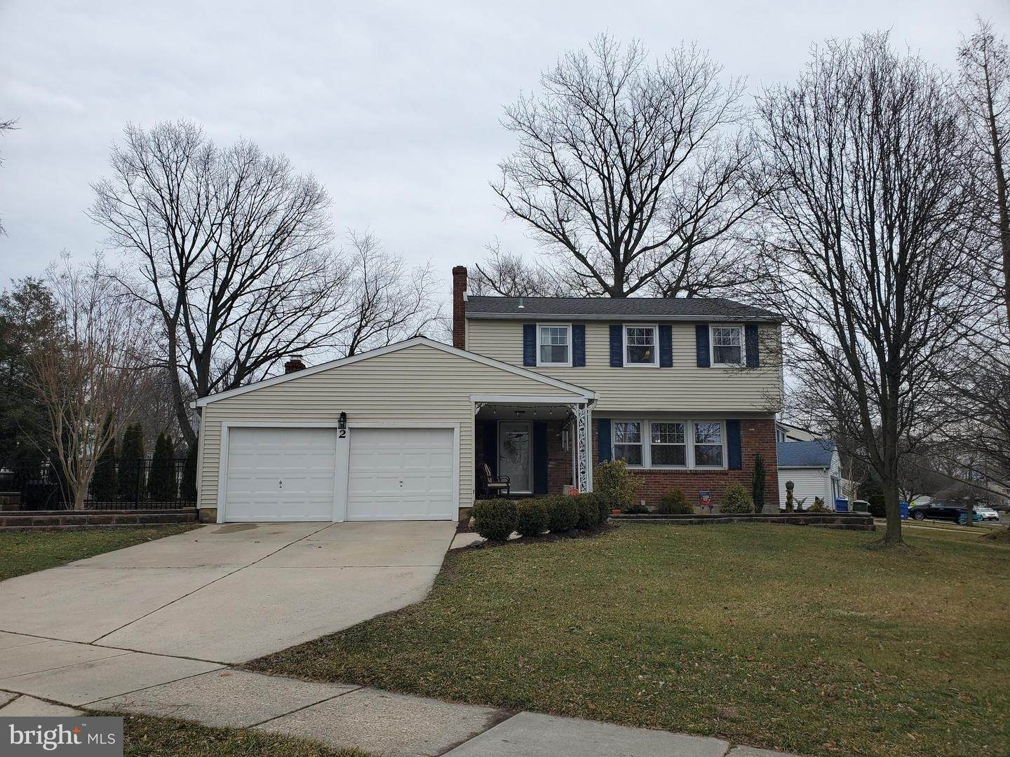 Detached House for Sale at 2 ROANOKE Road Cherry Hill, New Jersey 08003 United States