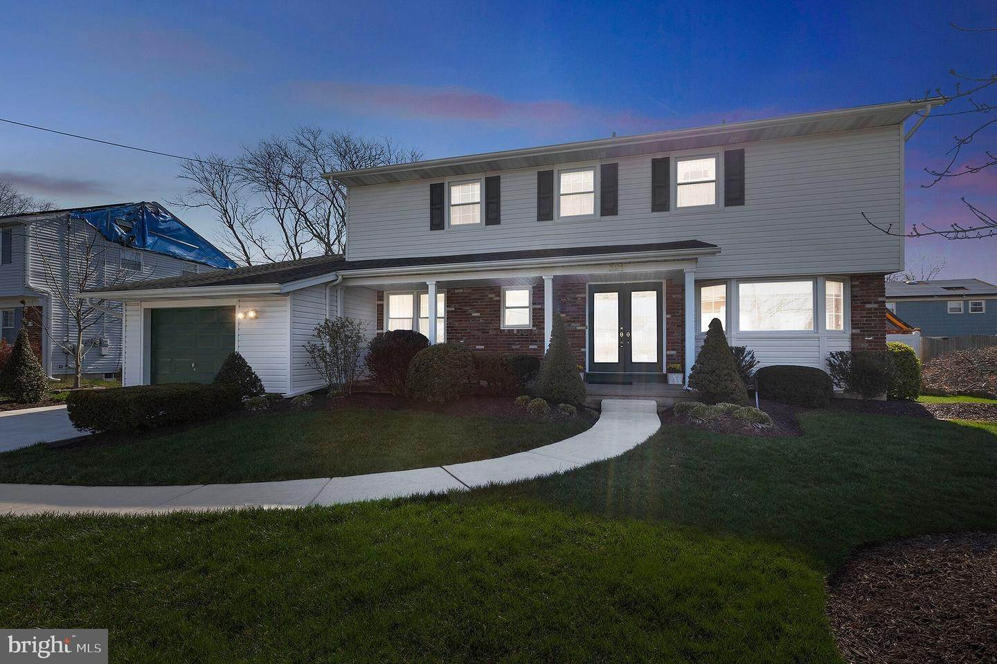 Detached House for Sale at 321 SURREY Road Cherry Hill, New Jersey 08002 United States