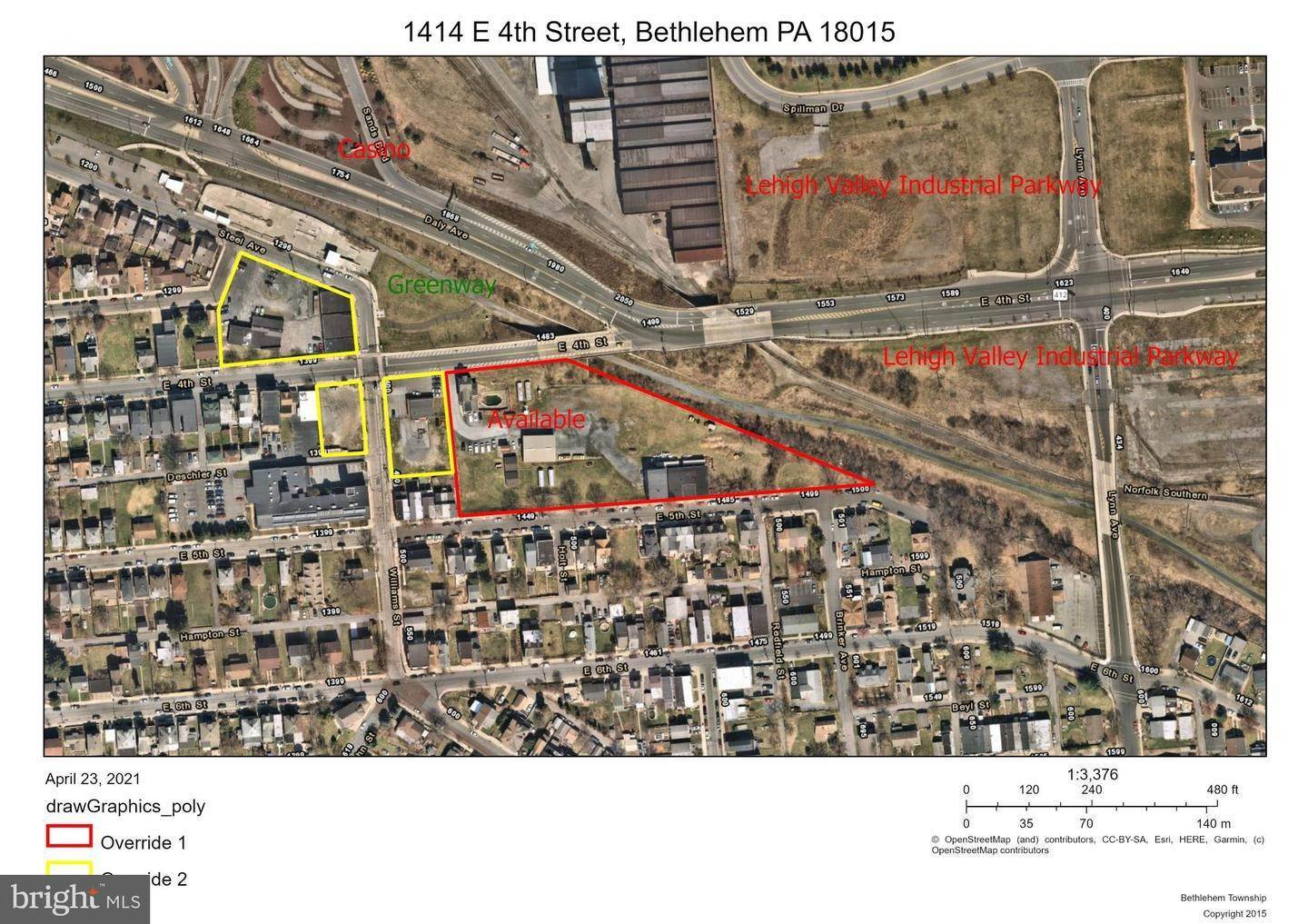 Land / Commercial for Sale at 1473-1485 E 5TH Street Bethlehem, Pennsylvania 18015 United States