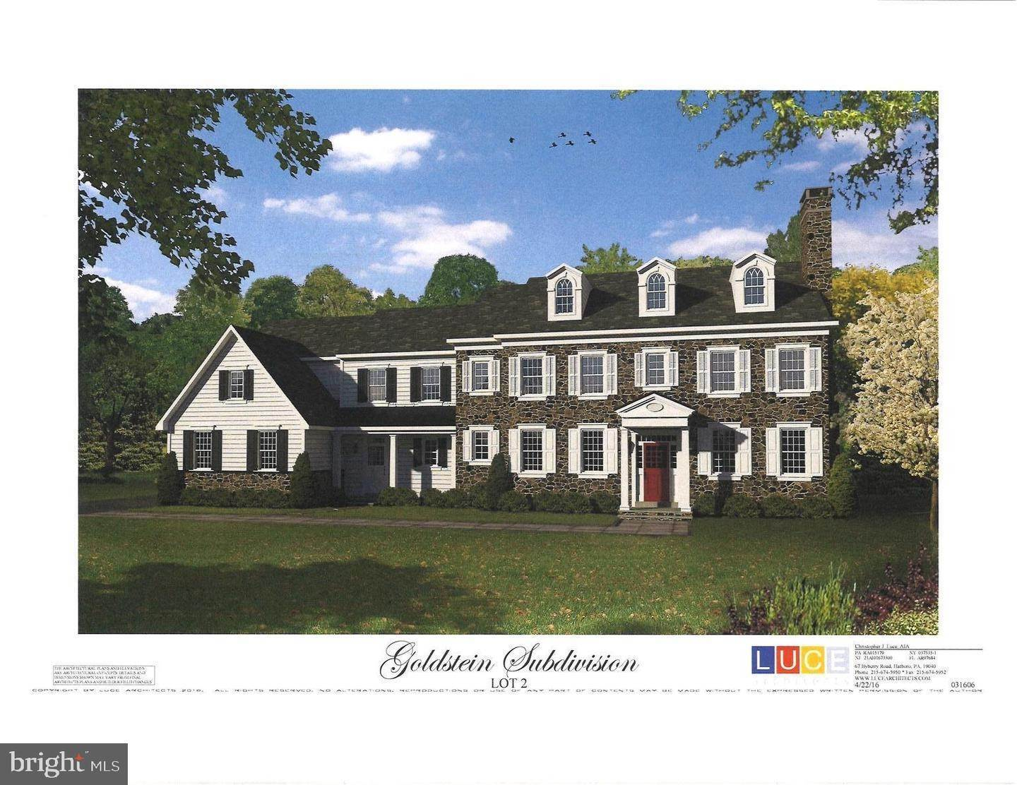 Detached House for Sale at 1231 SUSQUEHANNA RD #LOT #3 Jenkintown, Pennsylvania 19046 United States