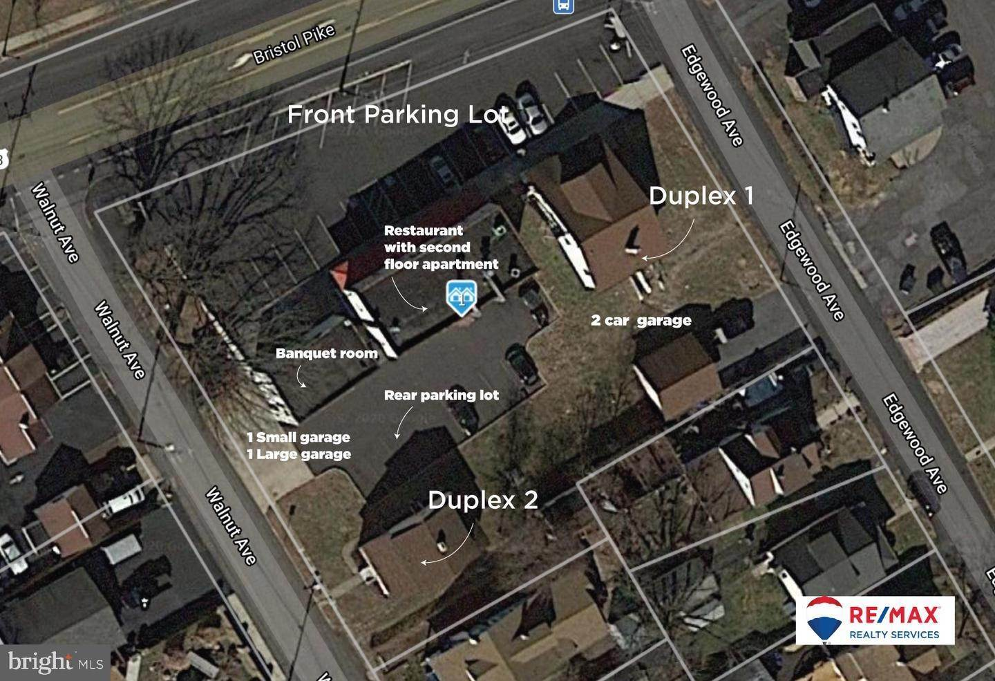 Commercial for Sale at 715 BRISTOL PIKE Bensalem, Pennsylvania 19020 United States