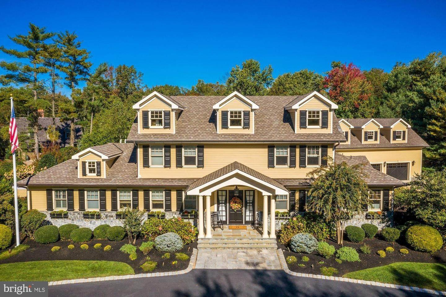 Detached House for Sale at 875 GOLF VIEW Road Moorestown, New Jersey 08057 United States