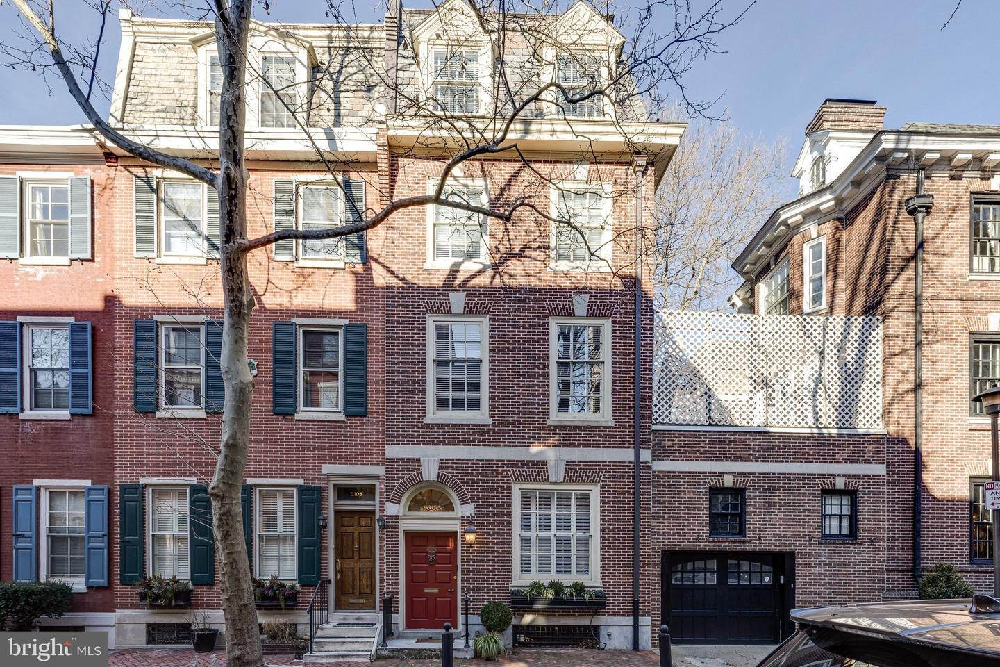 townhouses for Sale at 2101 DELANCEY Street Philadelphia, Pennsylvania 19103 United States