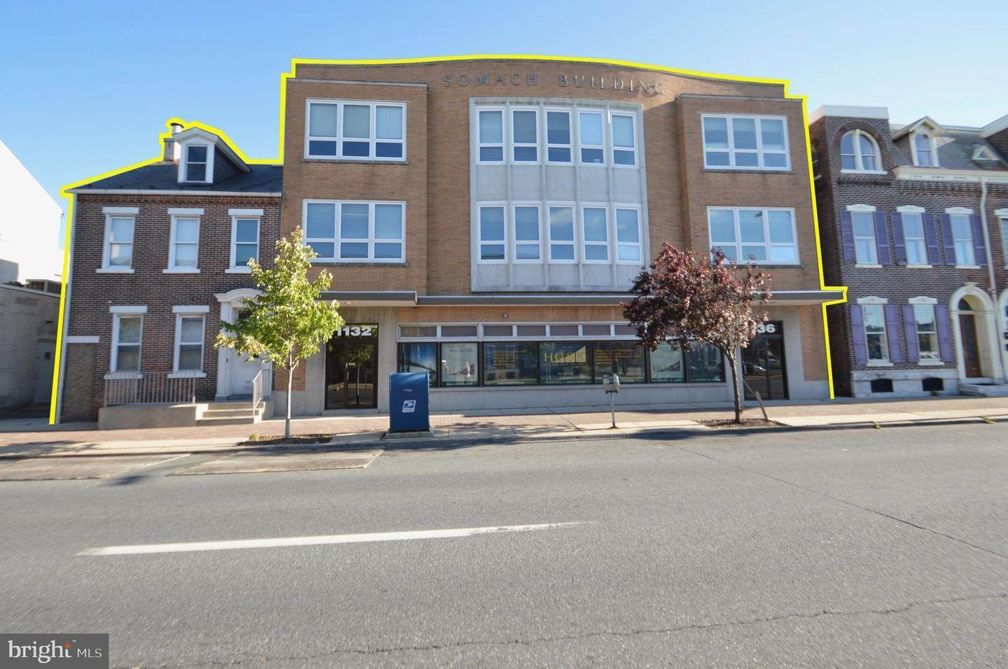 Offices for Sale at 1130-1136 HAMILTON Street Allentown, Pennsylvania 18101 United States