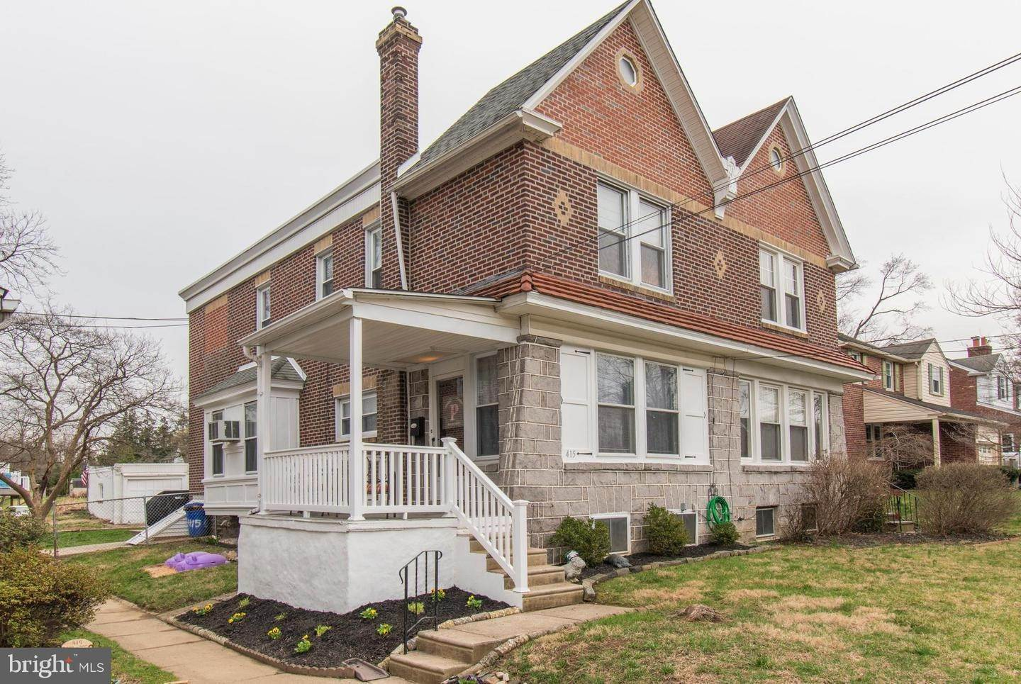 Semi-Detached House for Sale at 415 N MANOA Road Havertown, Pennsylvania 19083 United States