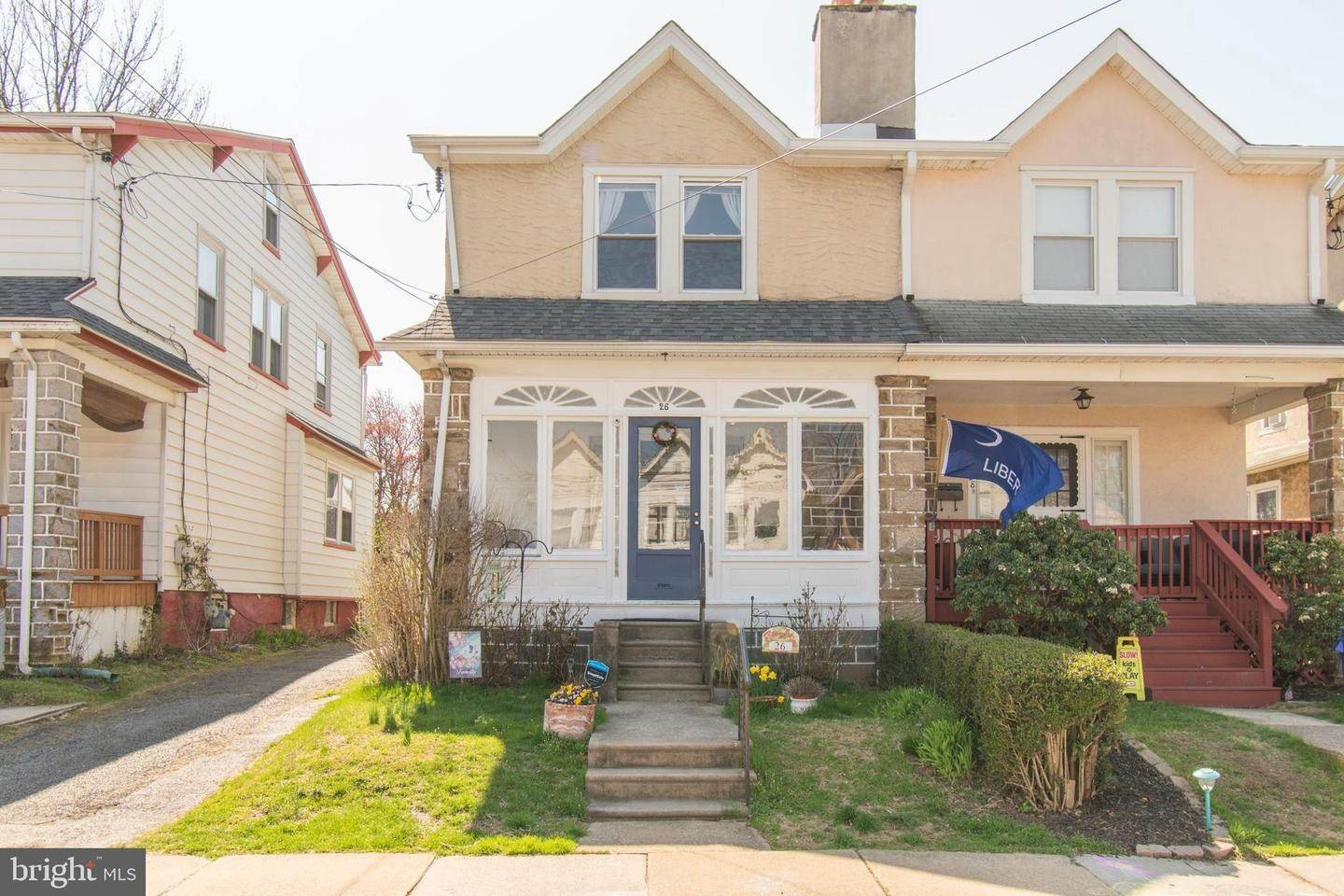Semi-Detached House for Sale at 26 WAVERLY Road Havertown, Pennsylvania 19083 United States