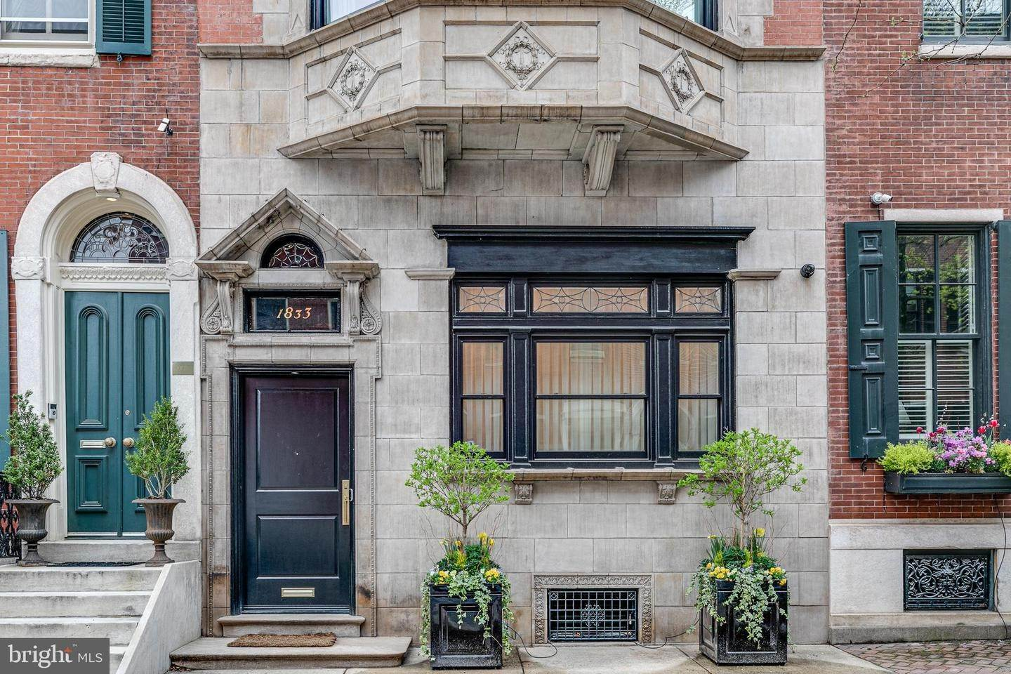 townhouses for Sale at 1833 DELANCEY Place Philadelphia, Pennsylvania 19103 United States