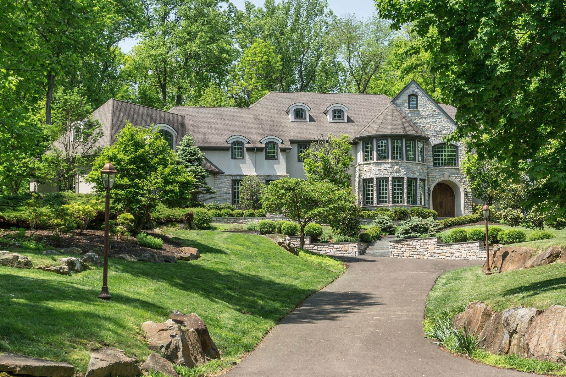 Single Family Homes for Sale at Custom Home in Rockwood 403 ROCKWOOD PATH New Hope, Pennsylvania 18938 United States