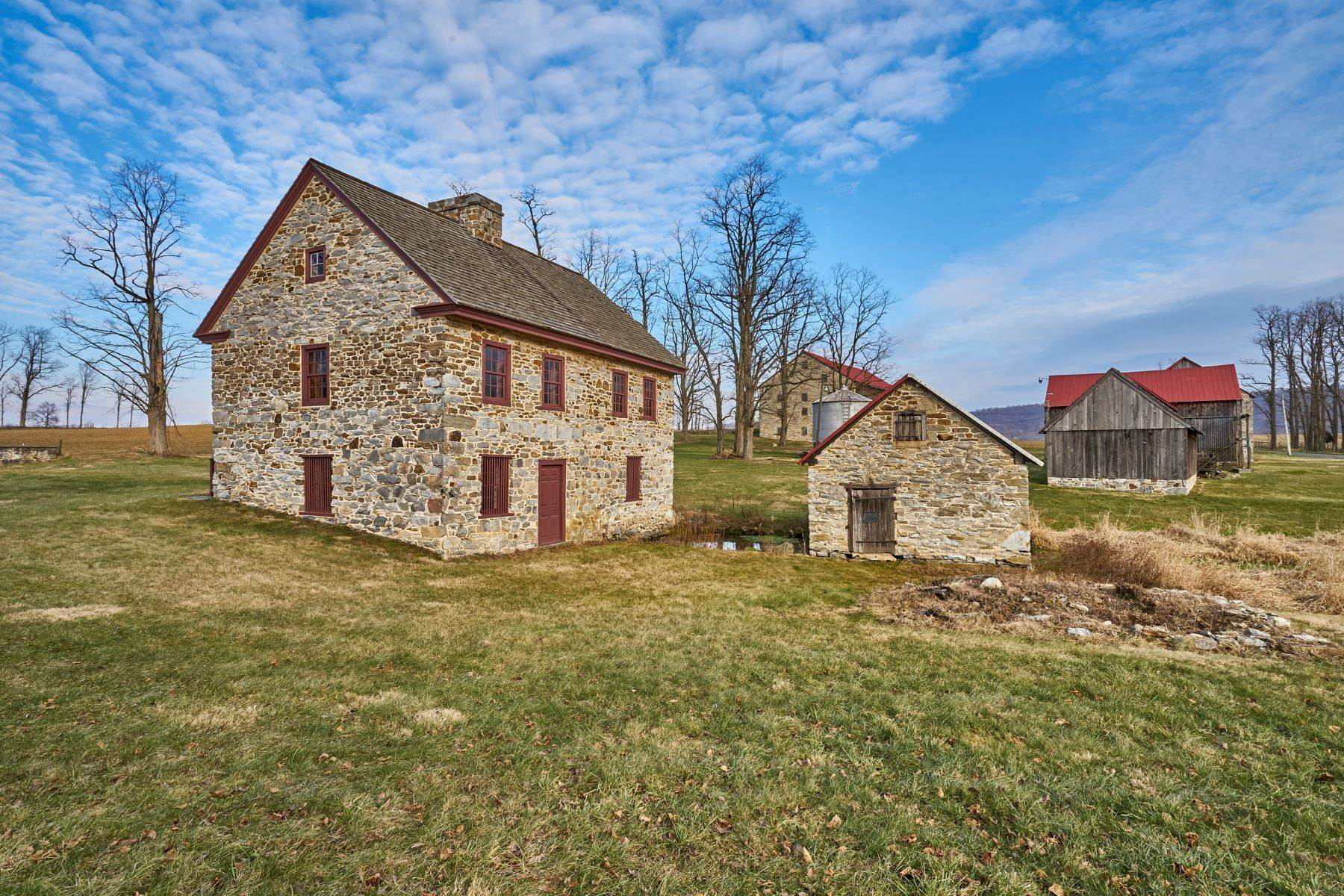 Farm and Ranch Properties for Sale at The Kauffman Farm 293 KAUFFMAN RD Oley, Pennsylvania 19547 United States