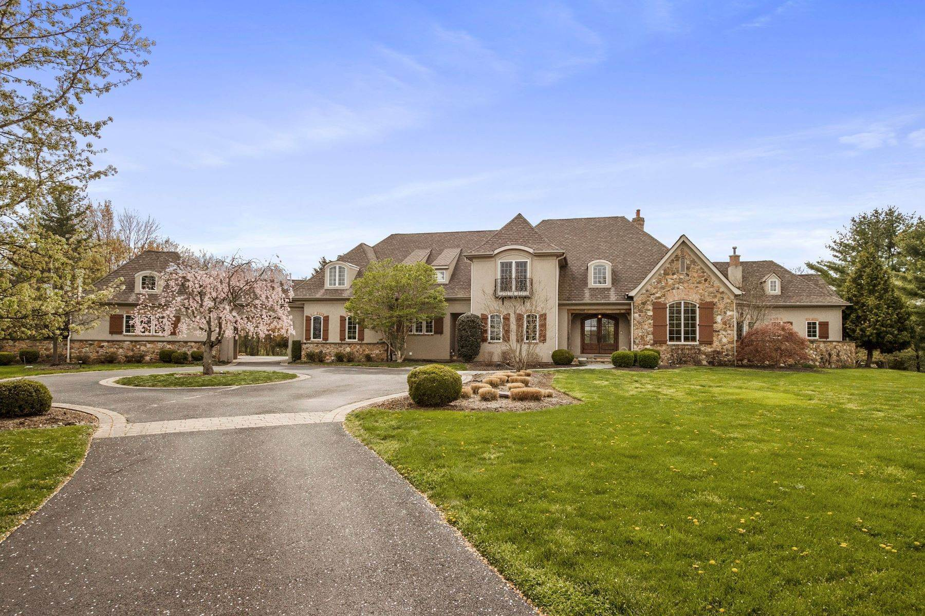 Single Family Homes for Sale at Highland Manor 1023 Highland Road Newtown, Pennsylvania 18940 United States