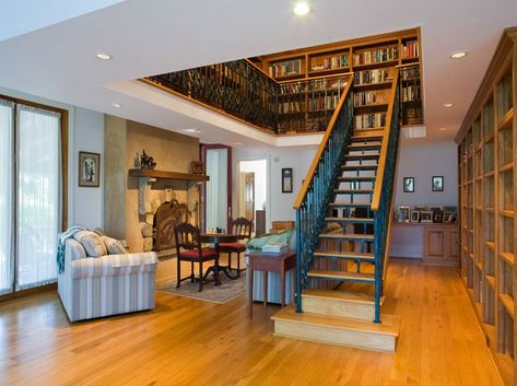Homes with a Library
