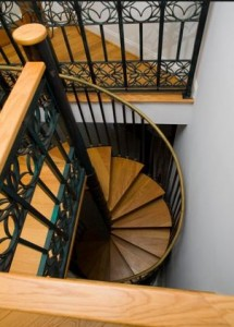 Home With Spiral Stairs