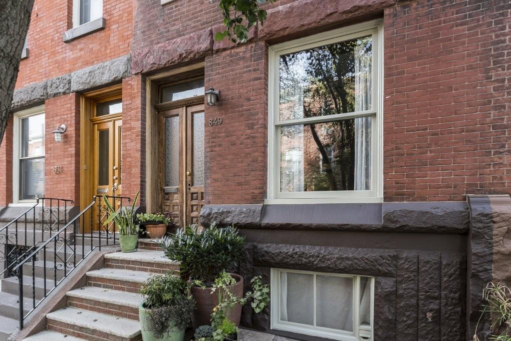 The classic Philadelphia  front door
