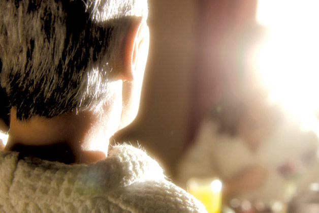 Scene from the stop-motion animated film, ANOMALISA, by Paramount Pictures.